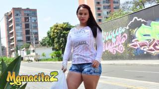 CARNEDELMERCADO - Latina Amateur Angela Rodriguez Tries Her First Porn Casting - MAMACITAZ