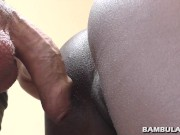 Big white cock makes ebony tight pussy fart and cum inside shruti hassan sex