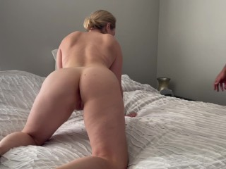 Hot cowgirl sex from blonde...