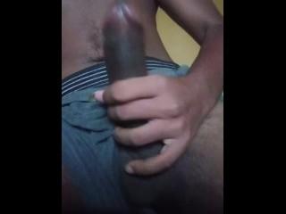 His black...