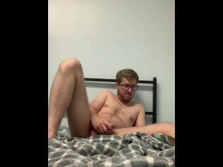 Trying to cum with my the room foiled...