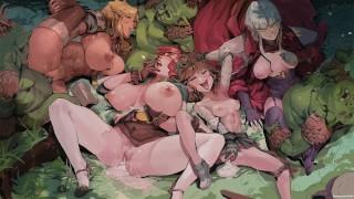 Jessika's Curse v1.7.19 Part 2 Goblin Gangbang Orgy Creampie Adventurers in Heat