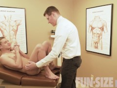 FunSizeBoys - Hung doctor barebacks short patient and assistant