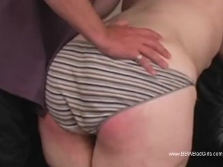 Spank that ass red with deep arousement...