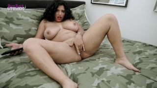 Gabriela Lopez in Big Tit Step Daughter Wants to Fuck on her Step Brothers Bed