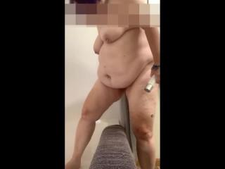 Mature milf tits butt fuck dildo ass to...