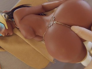 Pharah milking you dick so well...