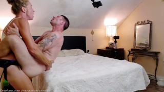 Guy Dominates Submissive