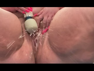 Piss with hitachi...