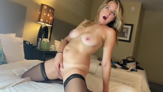 The HORNIEST MILF on earth right now wants you to see her orgasm, amateur