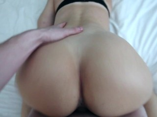 Fit fucked doggystyle pov couple...