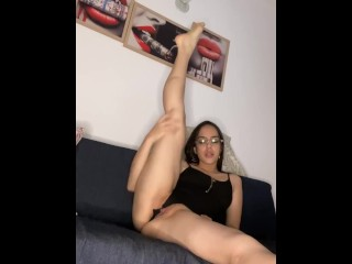 Gymnastics my vagina gets very hot...