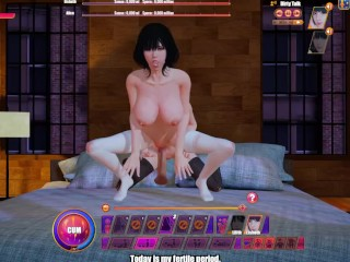 Succubus cafe part 5 babes for one dick...