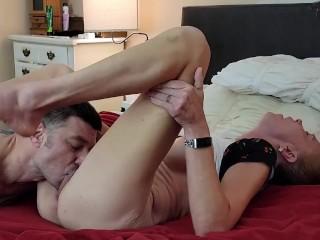 Romantic cunnilingus female orgasm hard dp...