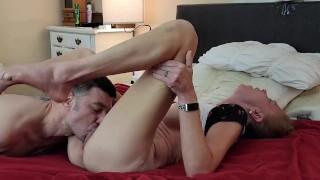 Romantic Boob Sucking PUSSY LICKING Cunnilingus Multiple REAL FEMALE ORGASM - HARD DP Passionate Sex