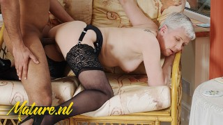 Horny Granny Is In Big Need Of a Hard Black Dick