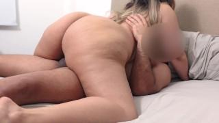 Fucking My FAT ASS STEPMOM She Love Ride My Dick