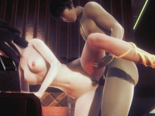 Beautiful china costume 3 uncensored...
