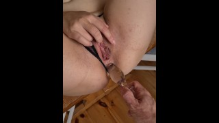 Oh so assfucked on the kitchentable- Full length