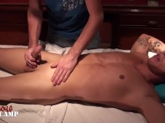 Brock gets a massage and a blowjob from Jacob Brock gets a massage and a blowjob from Jacob