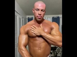 Sean costin bodybuilder cumshot and muscle...