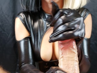 With cock slapping biting and edging...