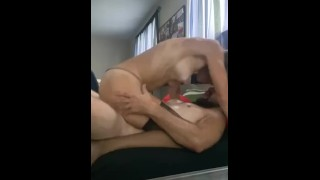 Sexy Hot MILF Straddles Young Cock And Takes It From Behind