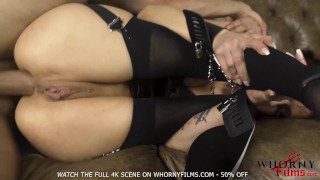 Hot submissive babe gets ass destroyed in anal sex domination BDSM fuck -WHORNY FILMS