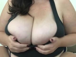 Tits slow mo tank top tease...