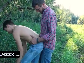 Naughty pleasing their horny hunk step fathers rides...