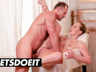 Relaxxxed jenny simons gets a full service sensual...