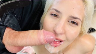 Hungarian Angel AMY DOUXXX gets fucked by German in apartment - WolfWagnerCom