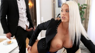 NF Busty- Big Tit Blonde Seduces Butler For Sensual Fuck - S12:E4