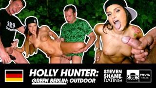 CAR BLOWJOB!! We eat her Pussy after LUNCH: Holly Banks - StevenShameDating