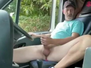 a hot truck driver