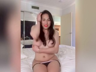 Anairb strip dance until she gets naked...