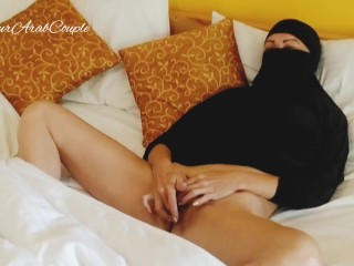 Hot hijabed herself...