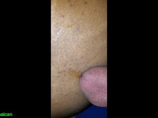 Daddy rubbing his pre cum on twink small...
