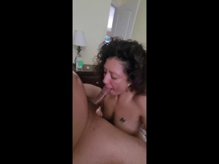 Anal teaser with latina milf on of...