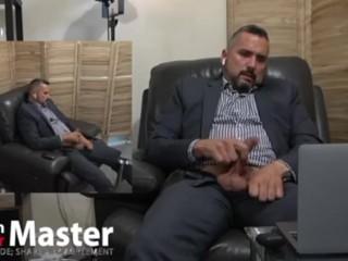 Daddy cock to porn while wearing suit then...