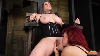 Angelina Castro Maggie Green And Sexy Vanessa Like BDSM Sex!