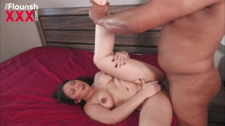 Curvy Latina runs into BBC buddy