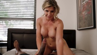 Cory Chase in Step Mom is Hooked on My BBC after Catching Me Masturbating