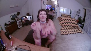 V691 Oct 15 smoke n stroke rub and cum with me