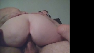 Booty Bouncing Riding his cock