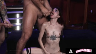 Lola Fae Gets Rough Gangbanged In The Mad Hatter's Bondage Sex Dungeon