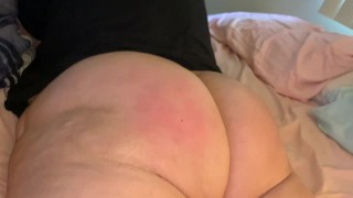 Young Thick Indian PAWG Takes Vicious Spanks Until She Cums